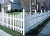 Bufftech White Cape Cod Vinyl Fence