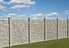 Bufftech Allegheny Molded Vinyl Fence in Beige Granite