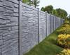 Bufftech Allegheny Molded Vinyl Fence in Gray Granite Granite