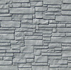 Bufftech Allegheny Molded Fence Panel - Gray Granite