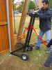 Removing a Wood Post with the OZ-Puller & Post Clamp