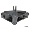 Multi-Adjust Gate Hinge from D&D Technologies - Top View