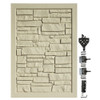 Bufftech Allegheny Swing Gate in Beige Granite with Included Hinges, Latch, and Strike Rod
