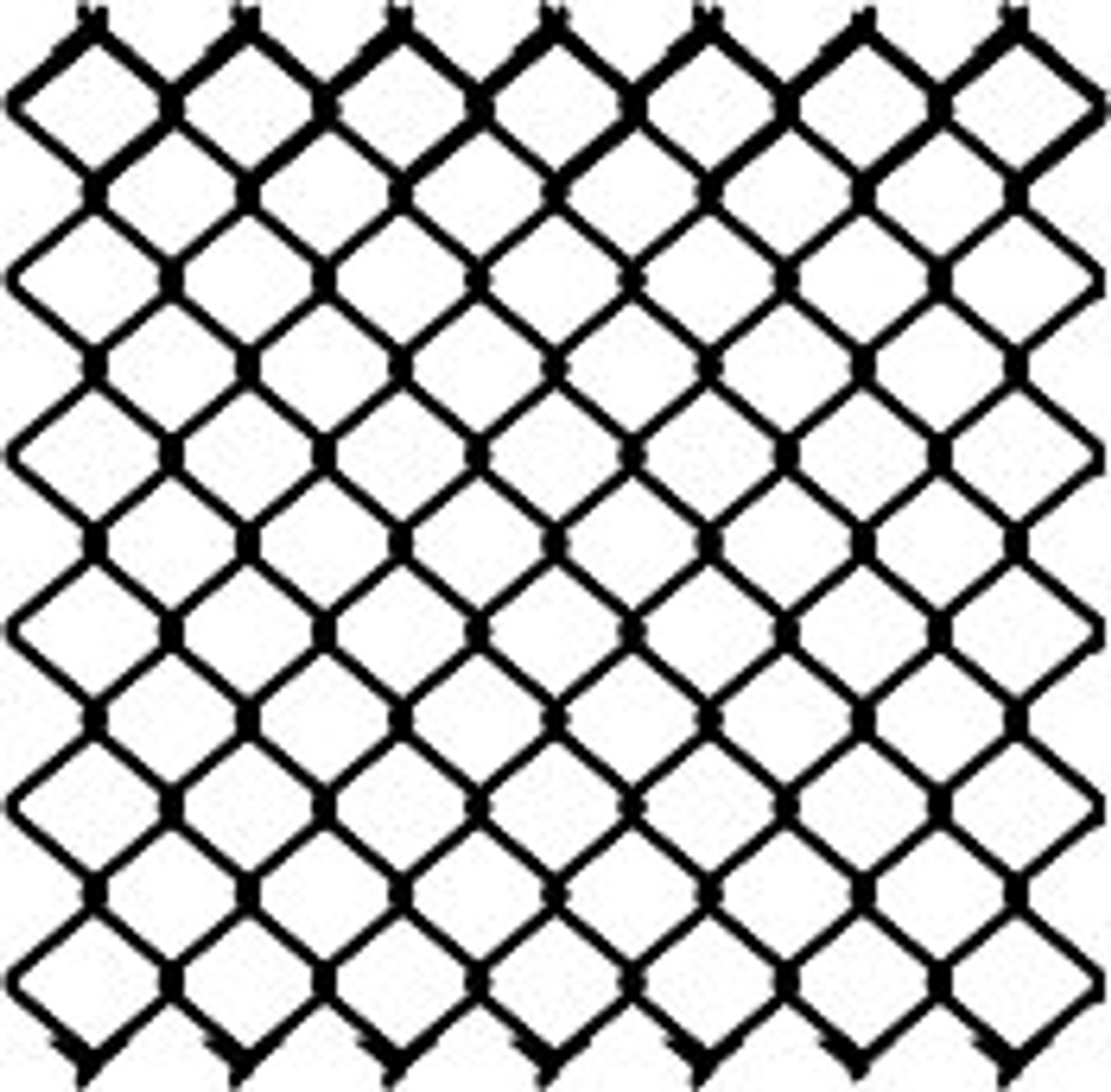 Black Chain Link Fabric Illustration