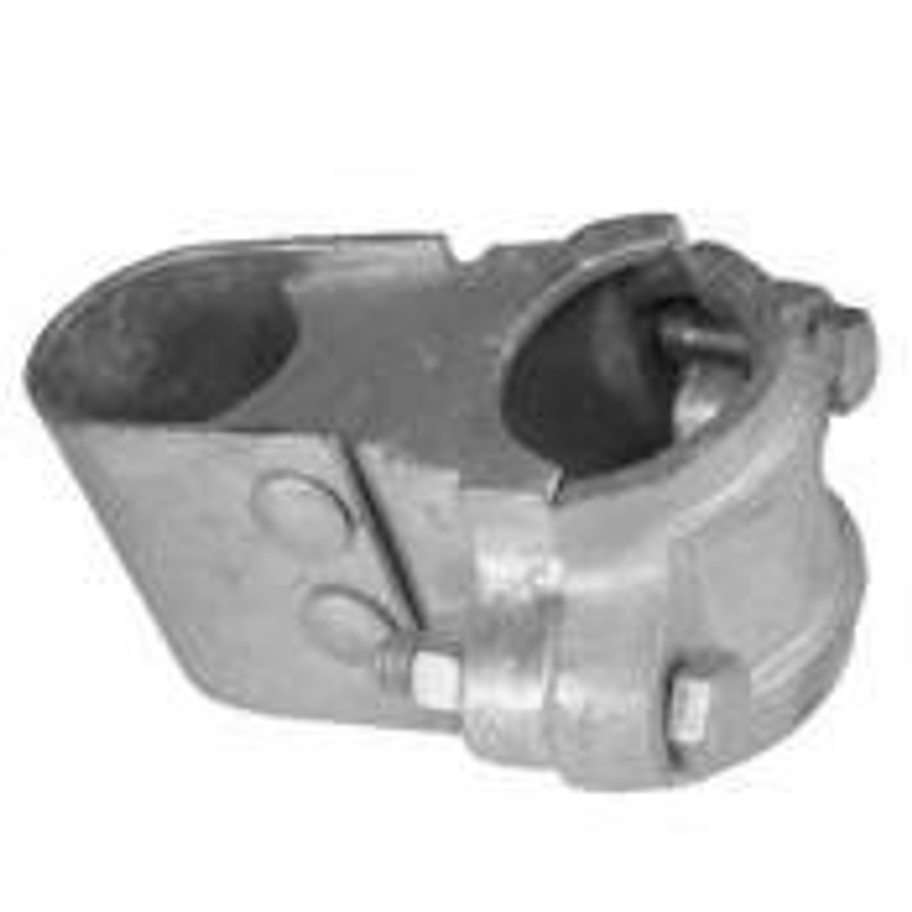 Malleable Steel Butt / Box Hinge for Commercial & Industrial Chain Link Gates, Galvanized - Multiple Sizes