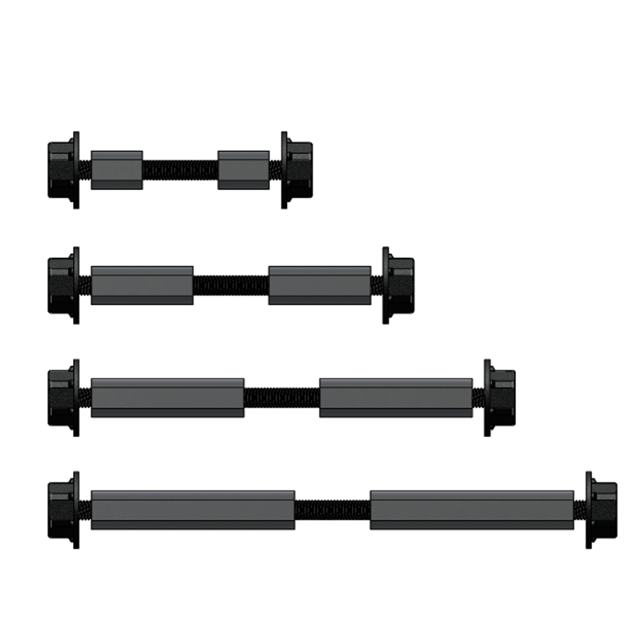 """OZCO OWT 3/4"""" Timber Bolts in 4 sizes"""