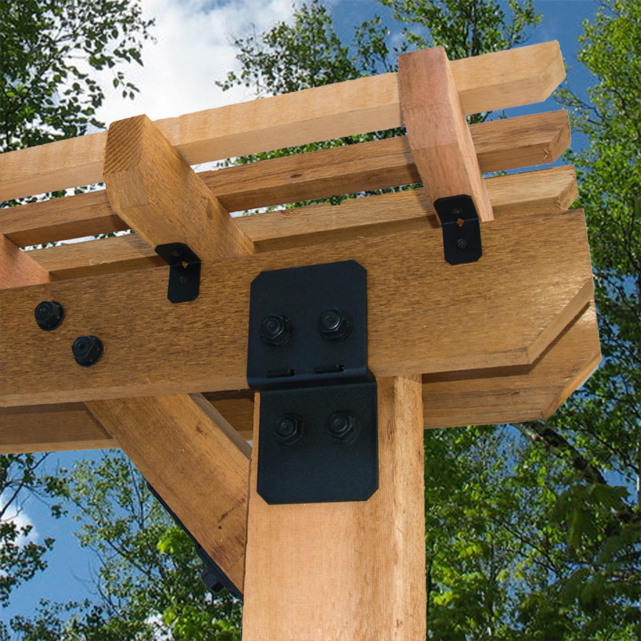 "OZCO OWT 3/4"" Timber Bolt Pergola Installation"