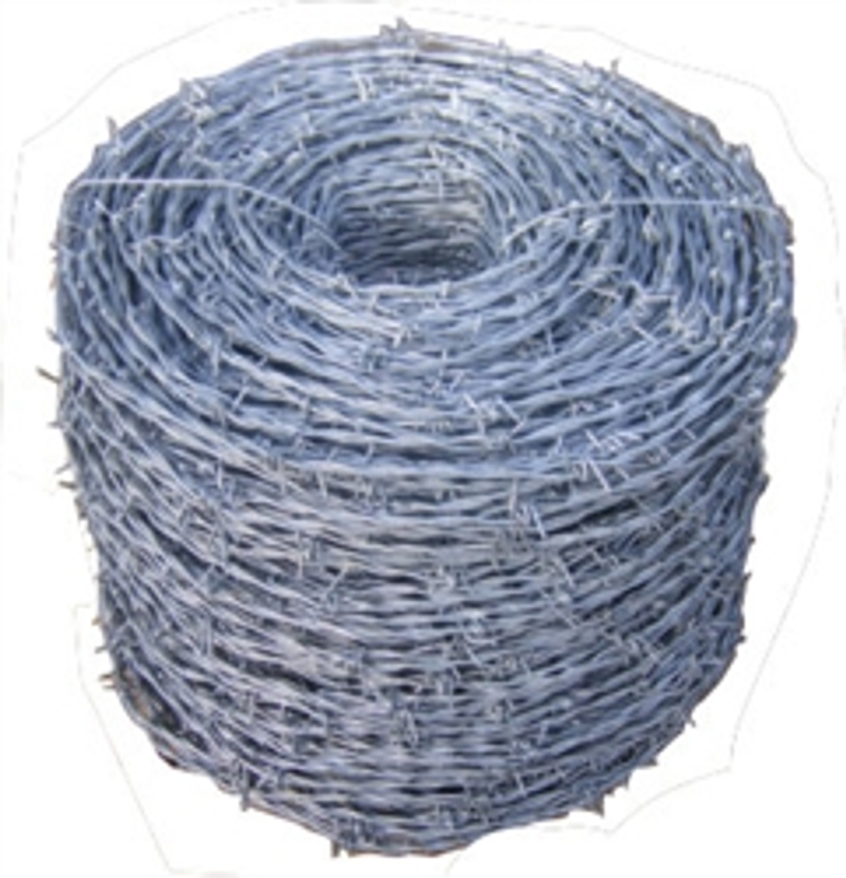 Galvanized 4-Point Barb Wire - 1320' Roll
