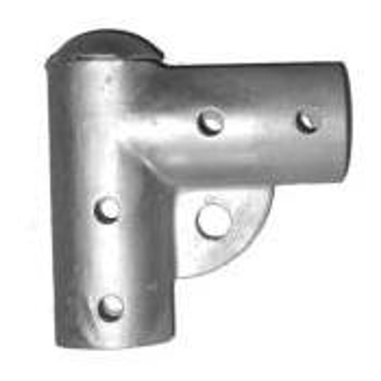 Residential Pressed Steel Chain Link Gate Corner - Top