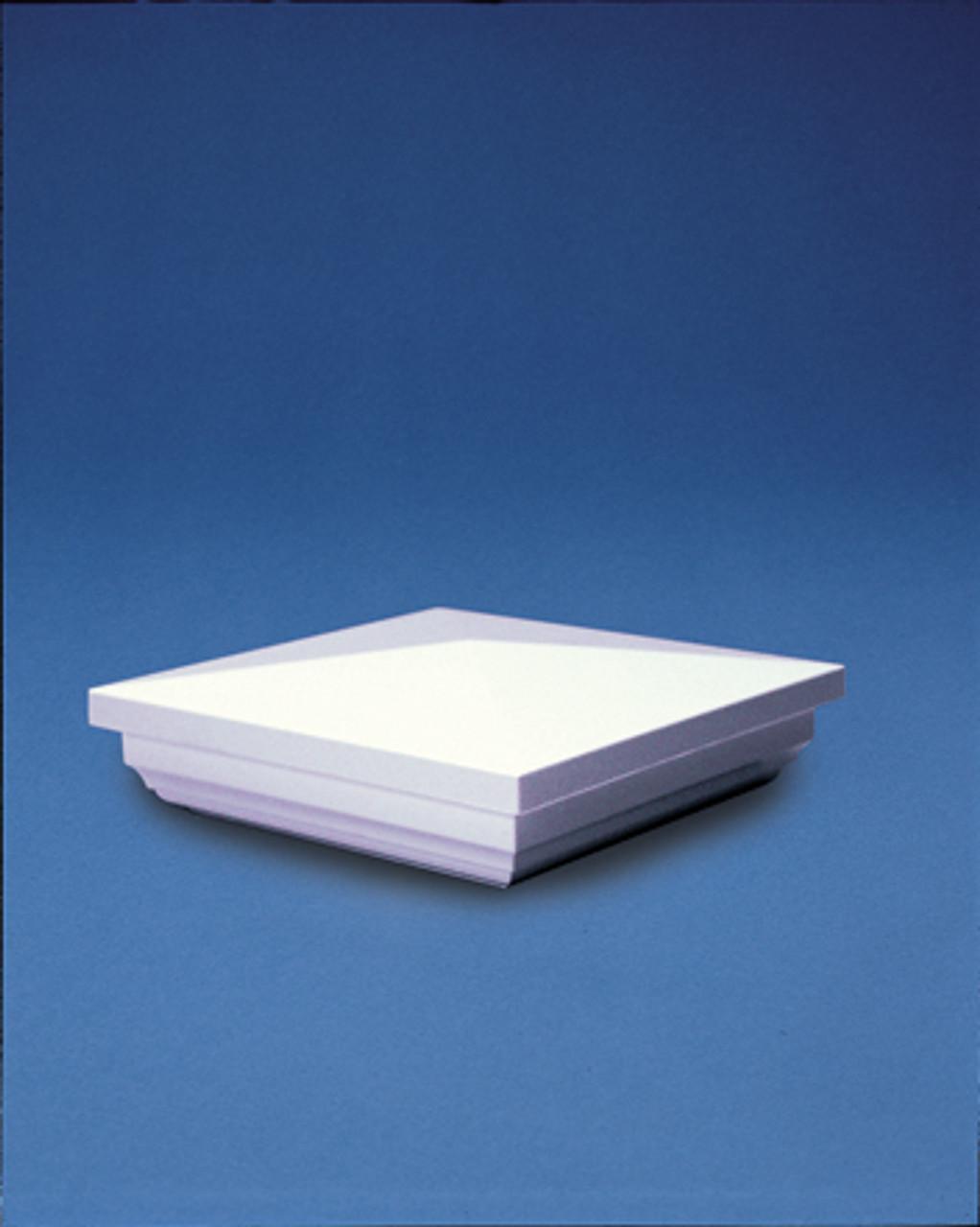 Bufftech Vinyl New England Post Cap - White