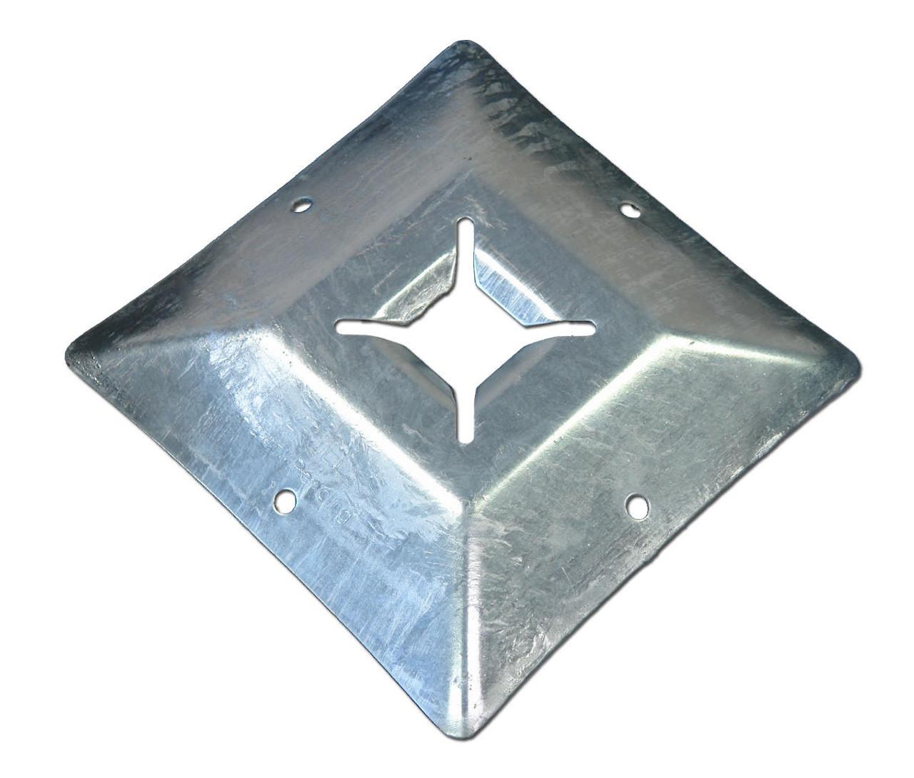 """OZ-Deck OD-T4 12"""" x 12"""" Load Bearing Deck Plate"""