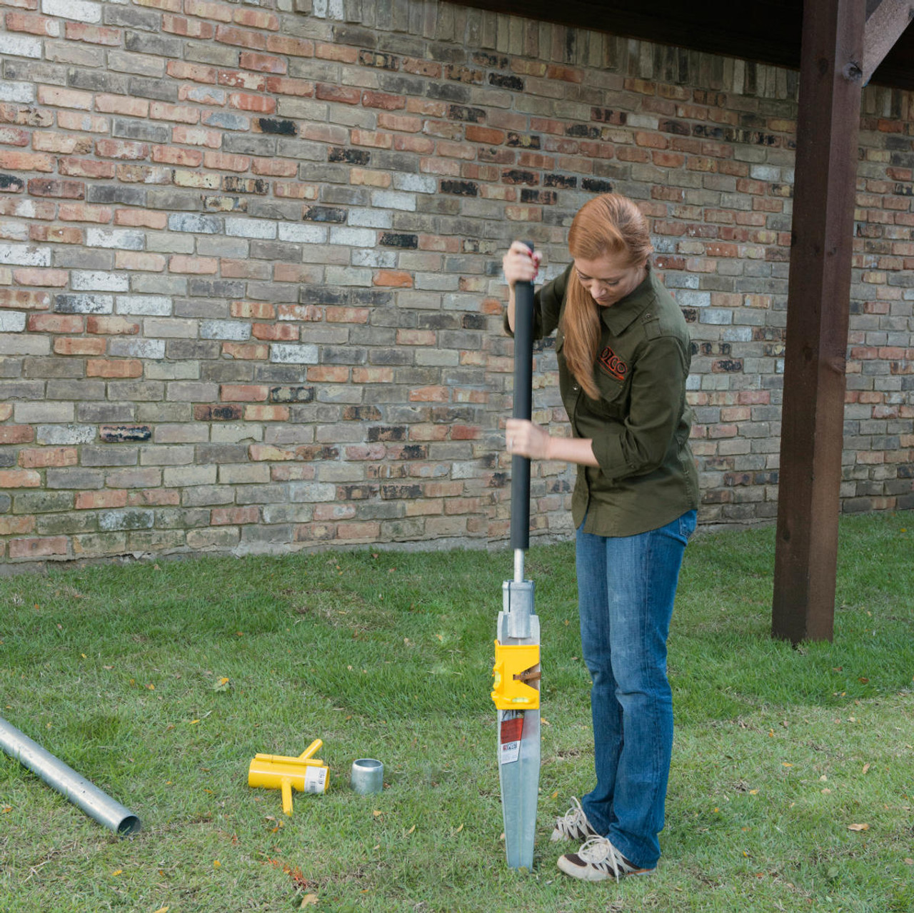 Installing an ISW-850 Post Anchor with the Manual Driving Kit (MDK-13)