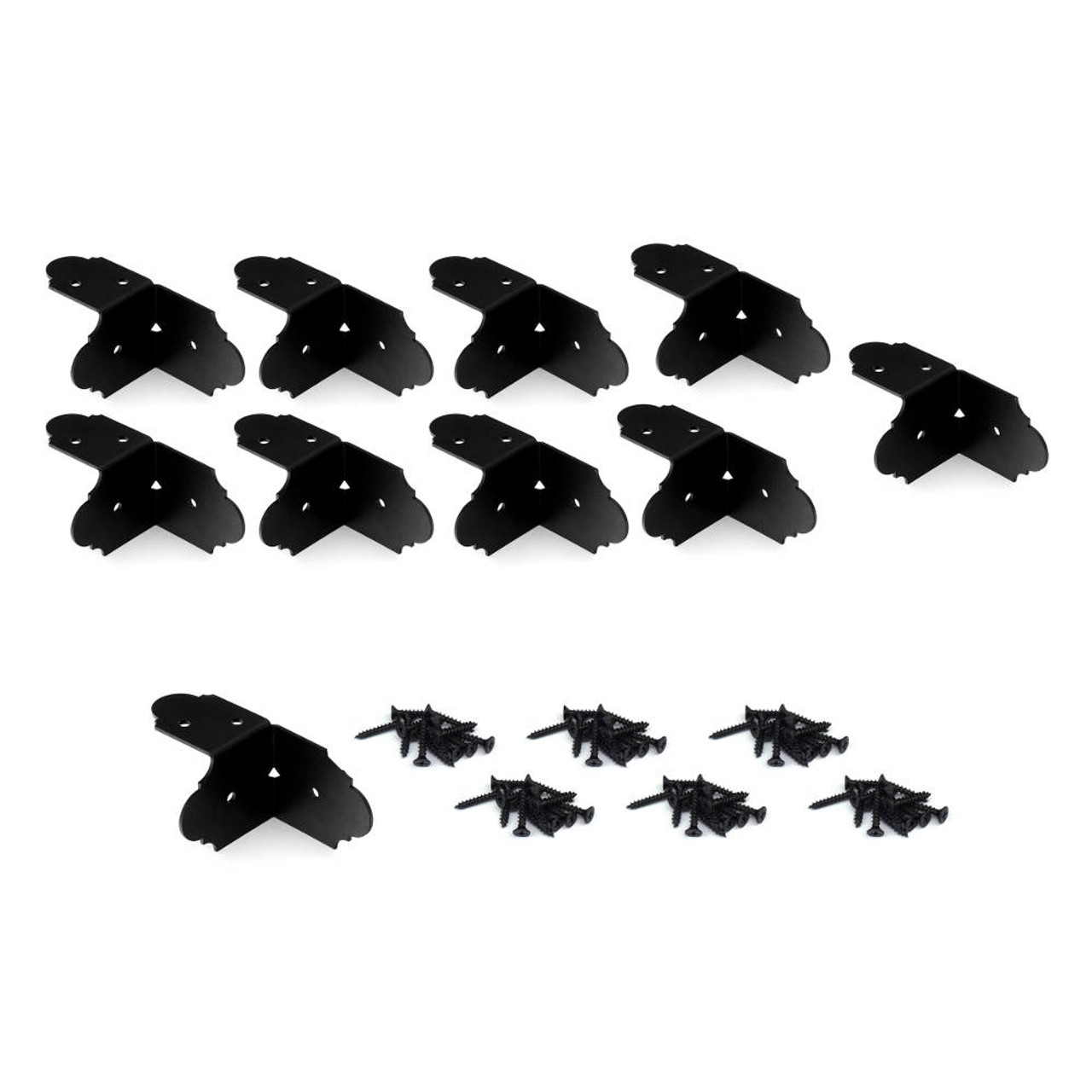 """OZCO OWT Hardware Ironwood 2"""" High-Velocity Rafter Clips - 10-Pack"""