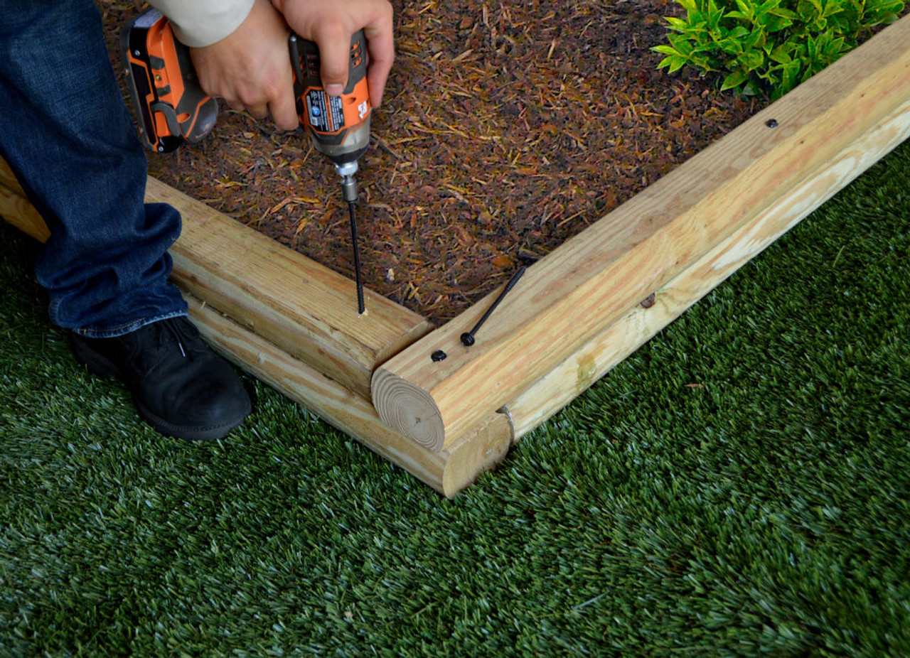Installing a Garden Bed with OZCO OWT Timber Screws