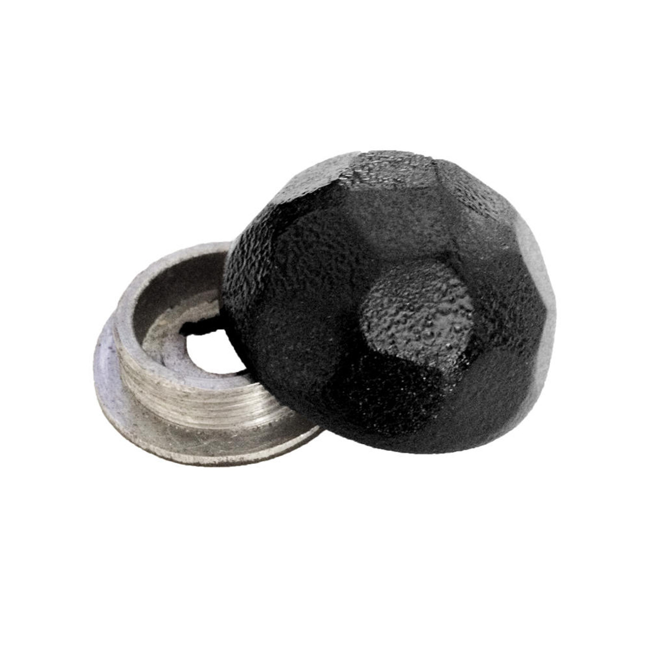 OZCO OWT HDCN Hammered Dome Cap Nut