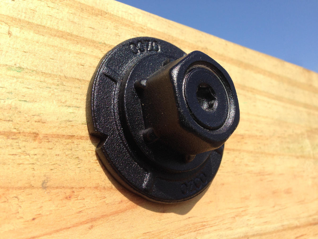 Timber Bolt Installed Using OZCO OWT Timber Bolt Washer