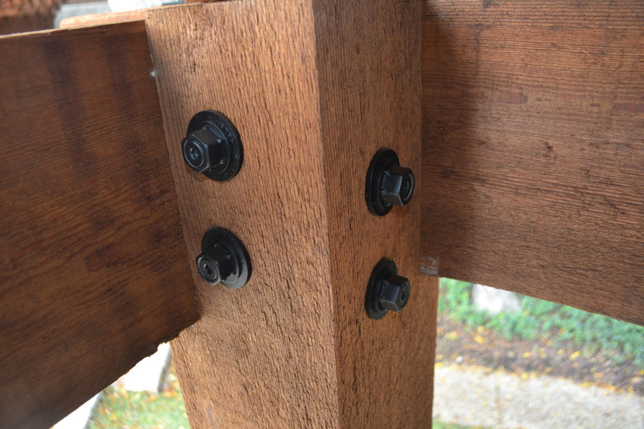 Post Installed with OZCO OWT Timber Bolts and Timber Bolt Washers