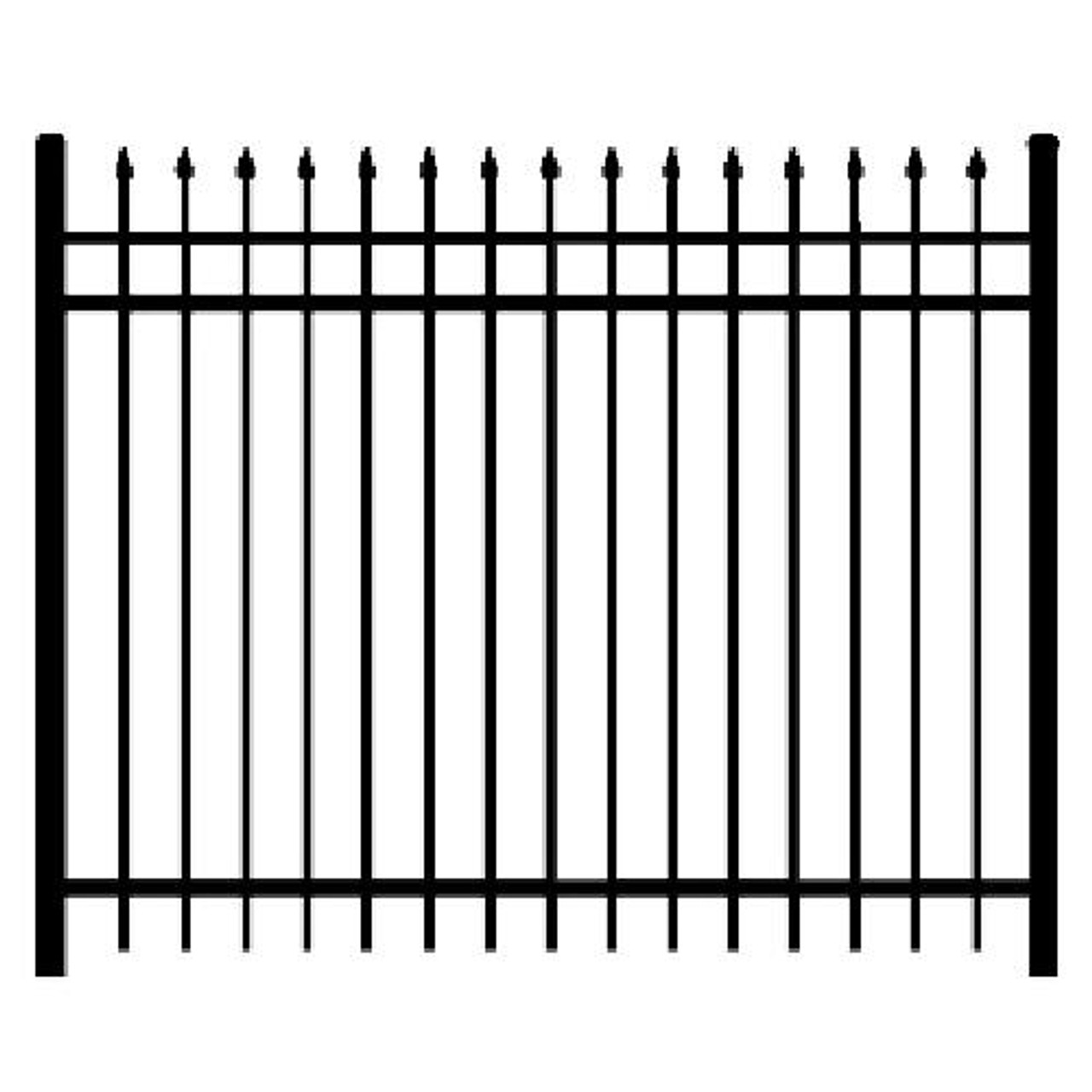 Regis 3131 Fence Panel Line Drawing
