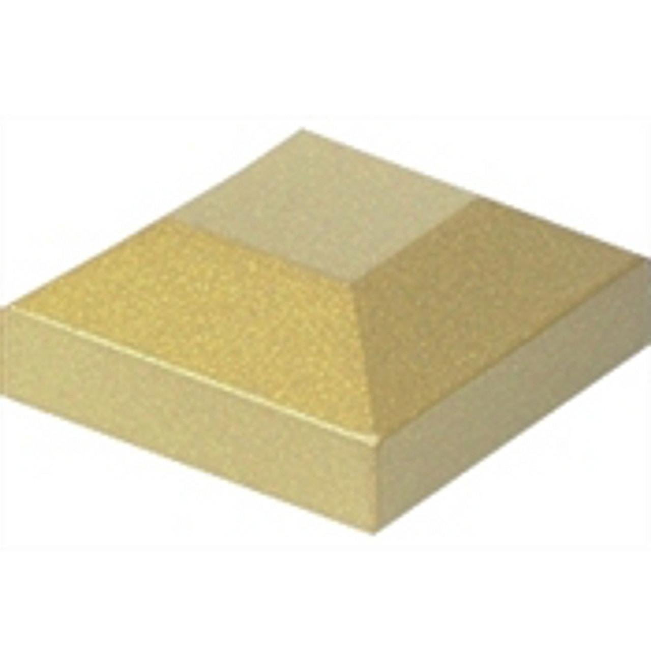 "Regis 2"" Aluminum Flat Post Caps - Available in 12 Colors"