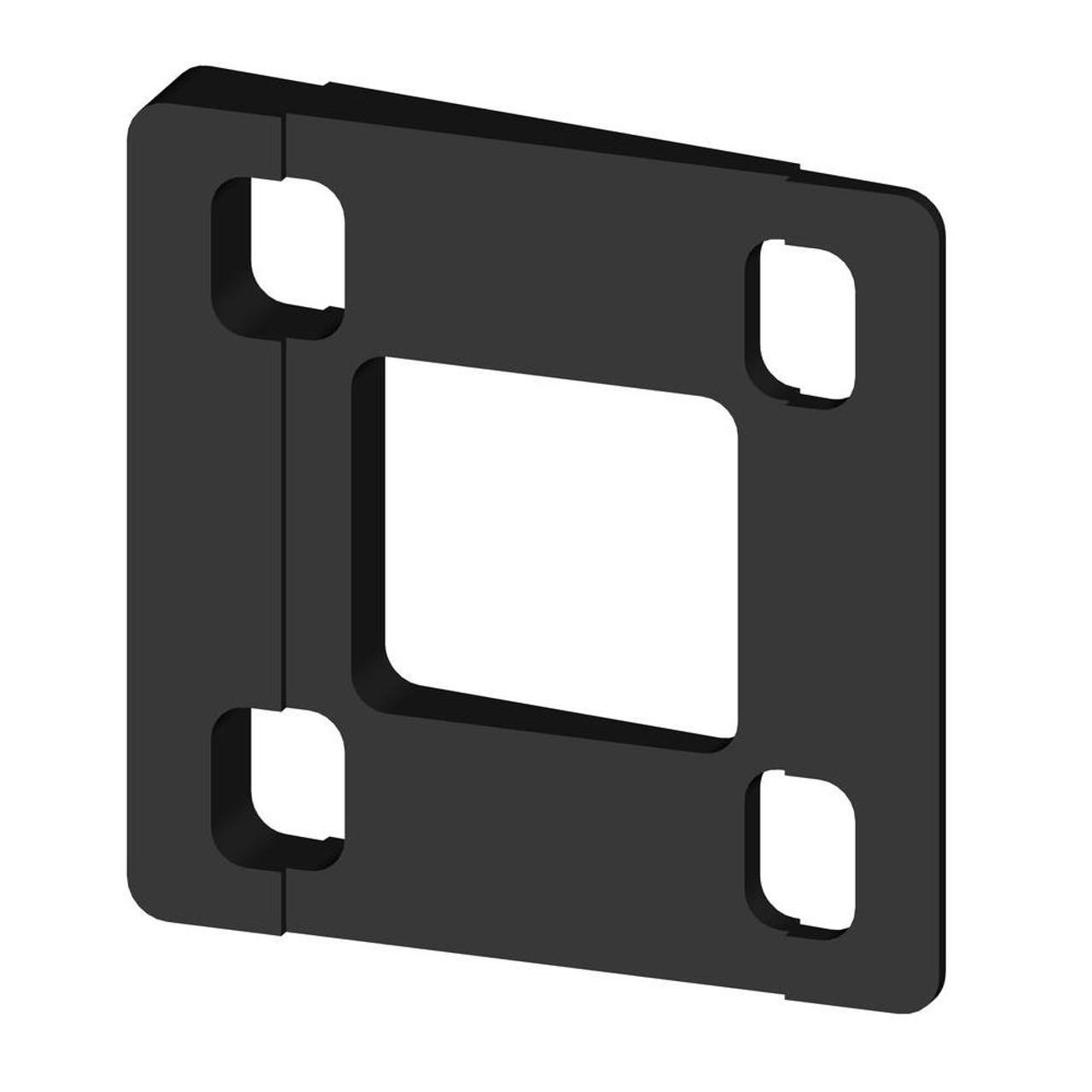 Key-Link Arabian Aluminum Railing Swivel Wedge - Black
