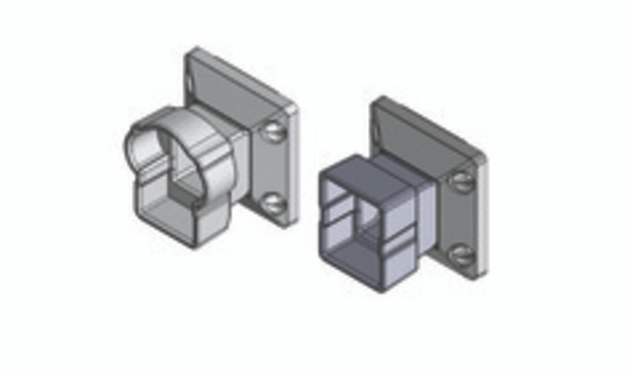 Key-Link Arabian Vertical Swivel Mounts - Illustration