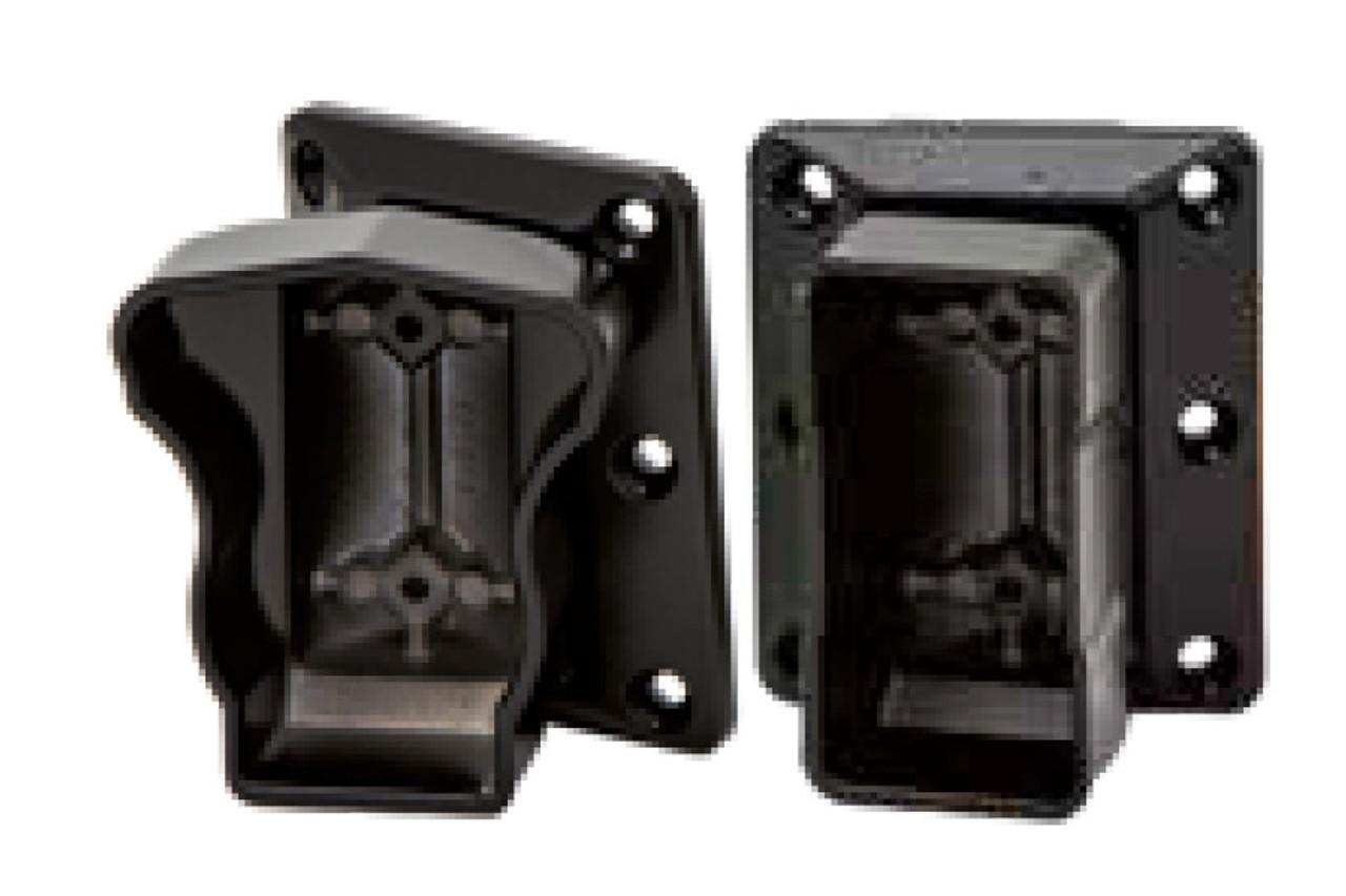 Lancaster Aluminum Railing Horizontal Swivel Brackets for Top & Bottom Rails