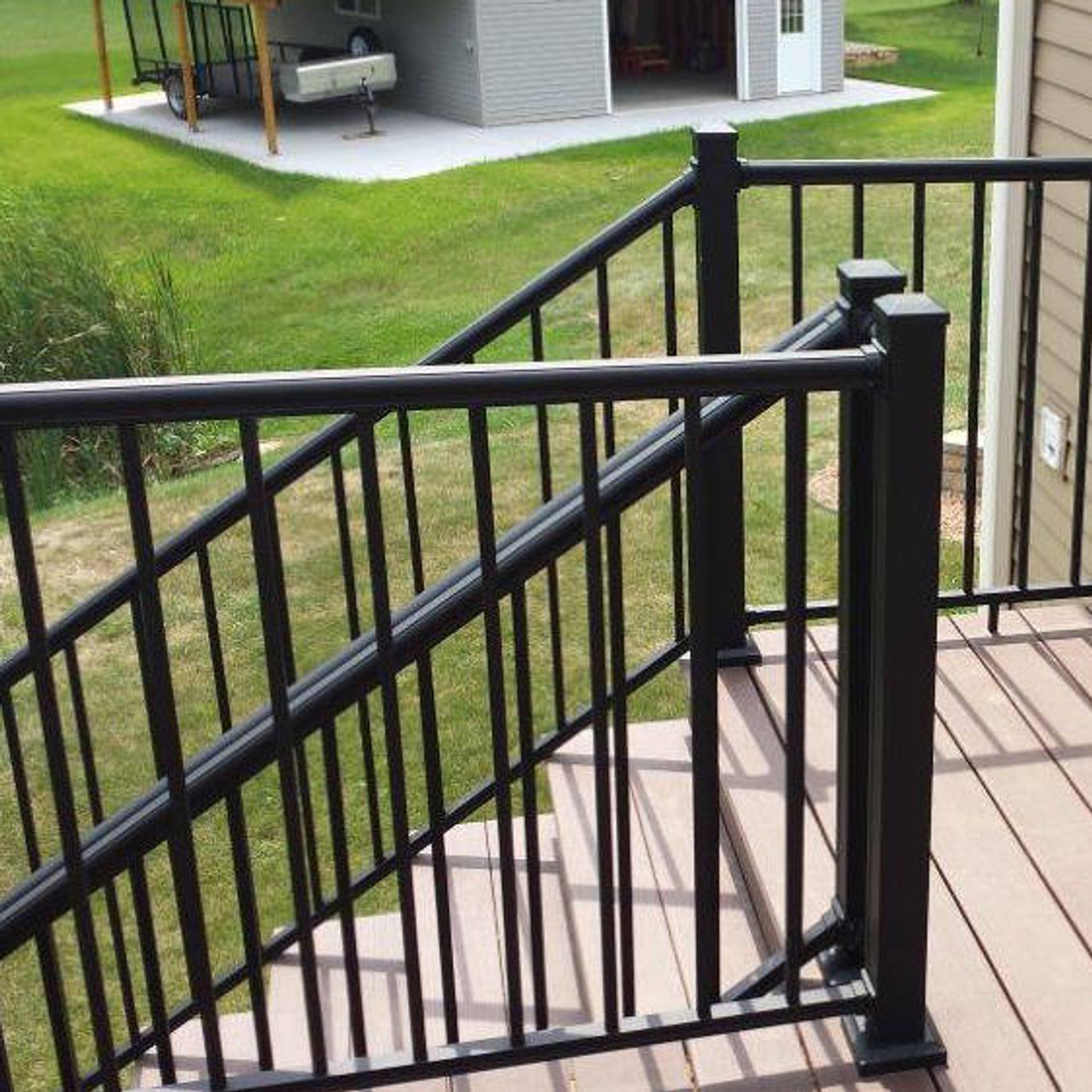 Key-Link Outlook Series Aluminum Stair Railing Sections