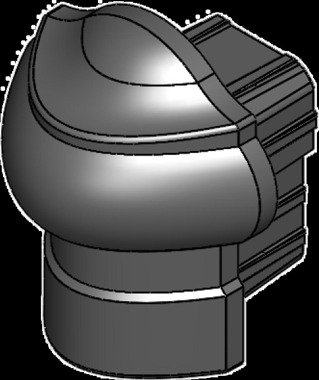 Rail End Cap for Key-Link Aluminum Railing