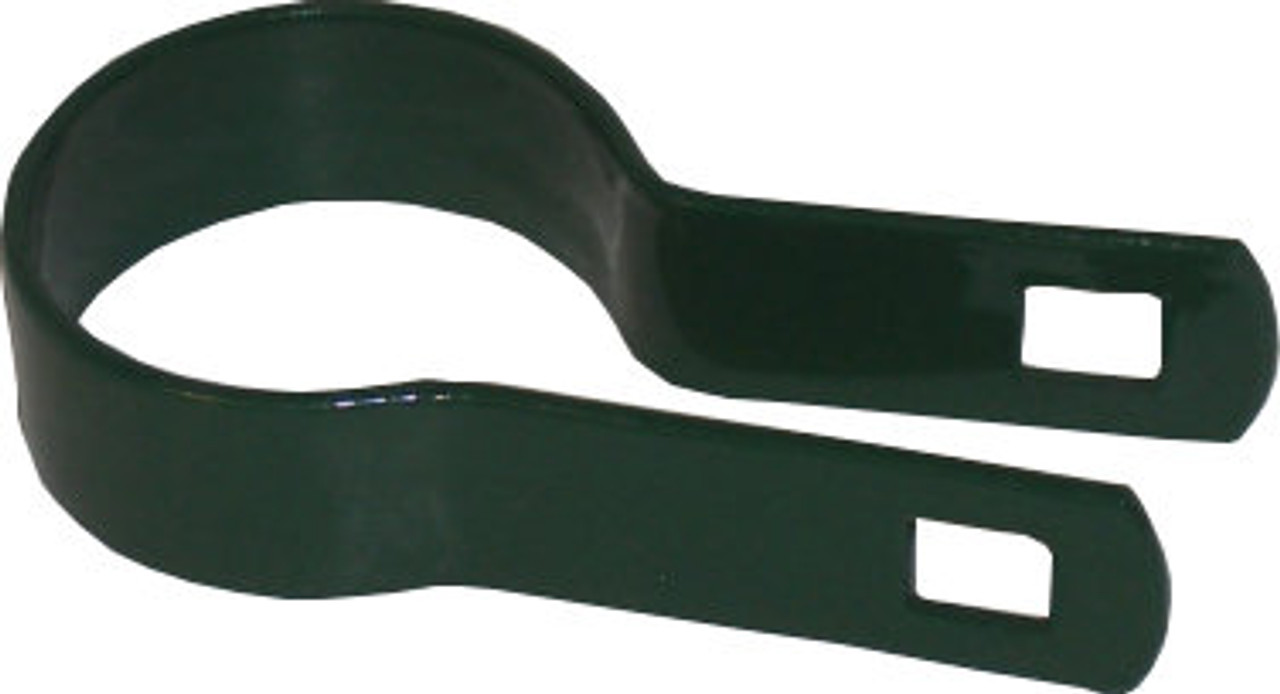 Green Flat Tension Band for Residential Fencing