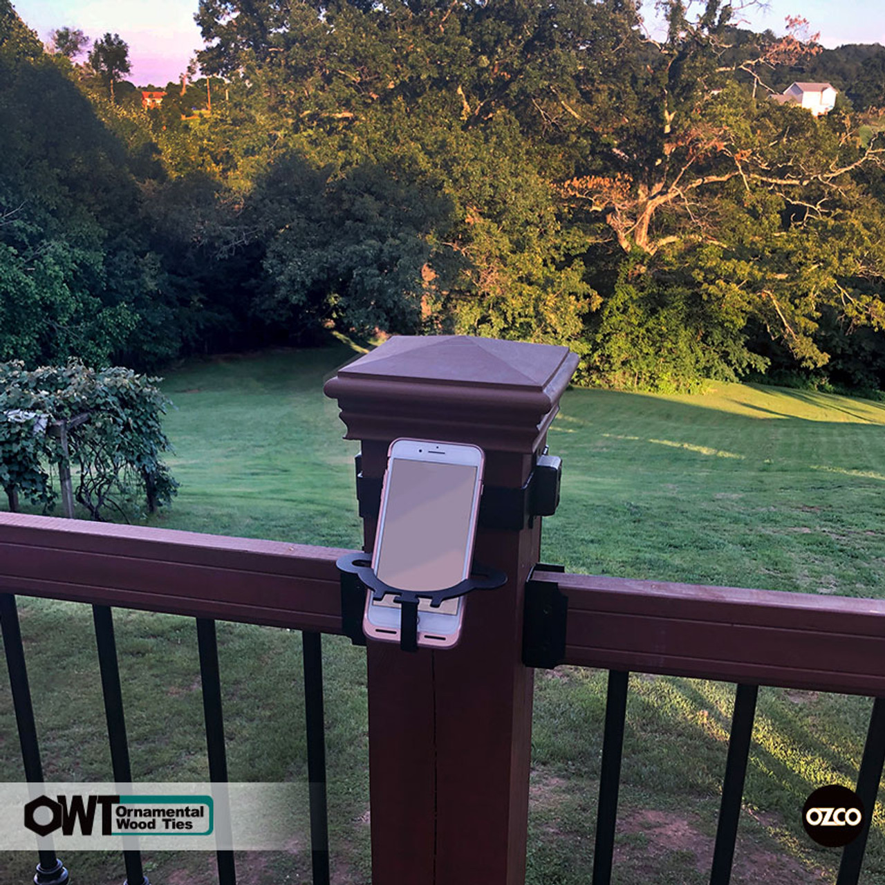 OZCO OWT Post Band with Can Holder / Cell Phone Holder Accessory