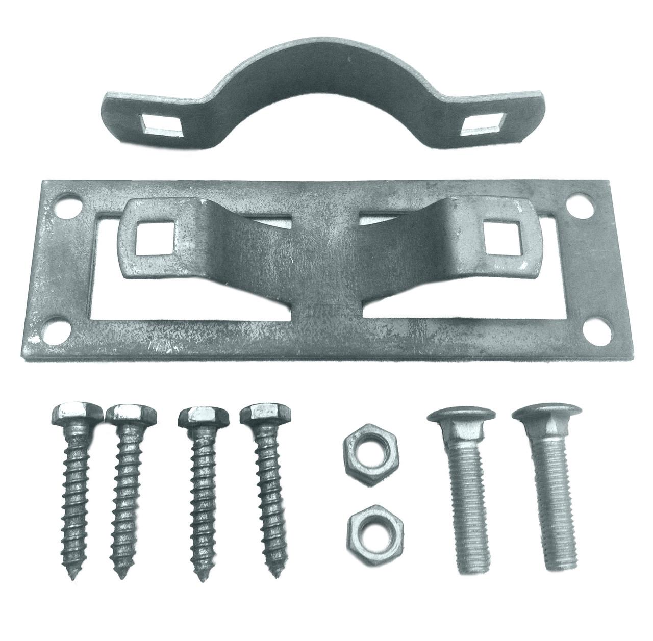 OZCO  WAP-238 Steel to Wood Fence Bracket w/ Hardware