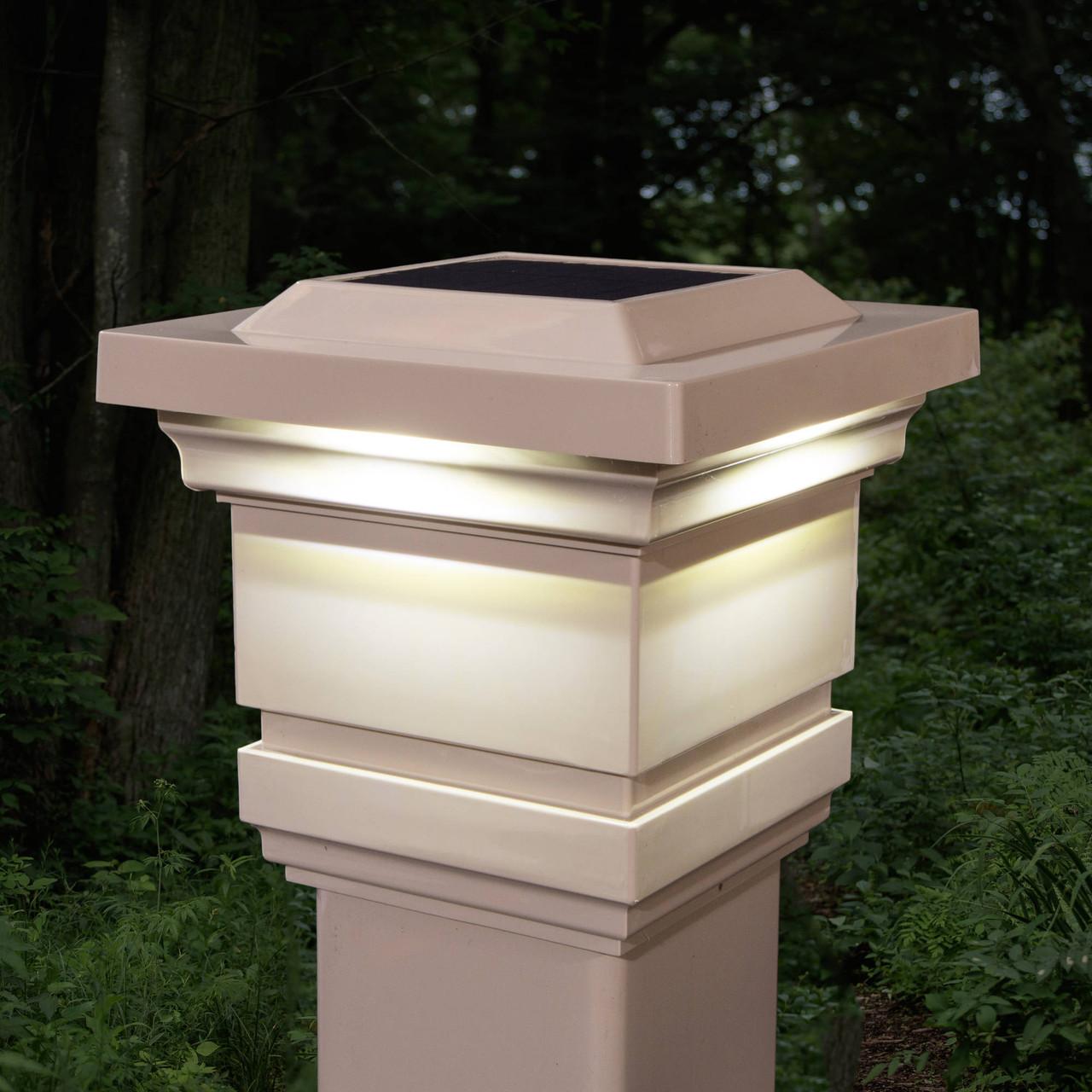 Original Tan Classy Solar Post Cap  from  Classy Caps (SLO74T)
