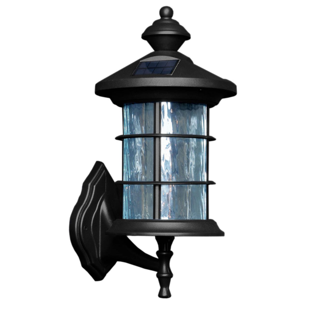 Hampton Black Aluminum Solar Lamp from Classy Caps