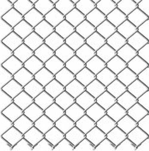 "11ga x 2"" Pre-Galvanized Chain Link Fabric Drawing"