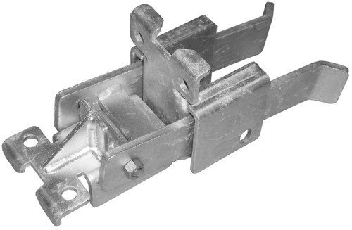 Residential Double Drive Strong Arm Latch from DAC Industries - Galvanized