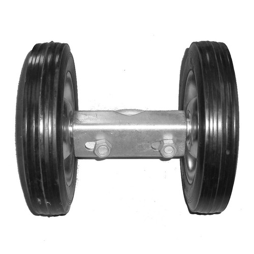 Residential Double Wheel Carrier for Chain Link Rolling Gates