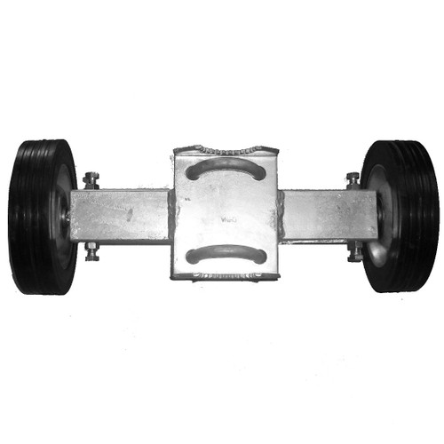 Commercial / Industrial Chain Link Double Wheel Carrier