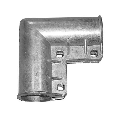 Aluminum 3-Bolt Chain Link Gate Corner