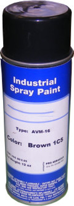 Brown Acrylic Spray Paint for Touching Up Chain Link Fencing