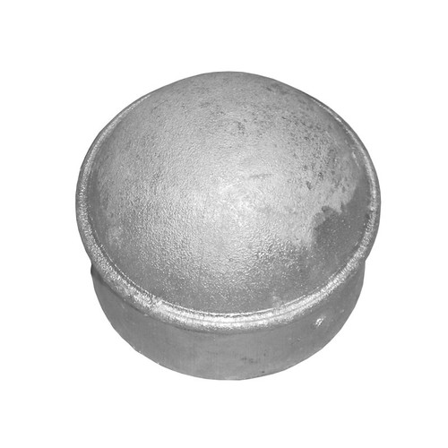 Galvanized Pressed Steel Dome Post Cap for Chain Link Post