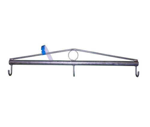 Chain Link Fence Fabric Stretcher Bar with 3 Hooks