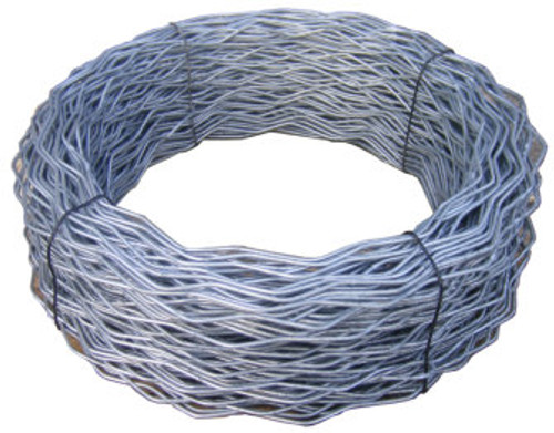 "Galvanized, Class III Marcelled Tension Wire with Tension ""Springs"""