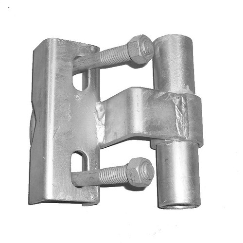 Universal Track Bracket for Rolling Chain Link Gates