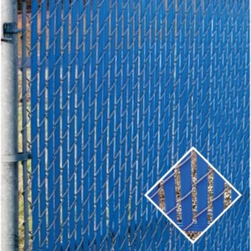 PEXCO Bottom Lock PVC Fence Slats - Royal Blue