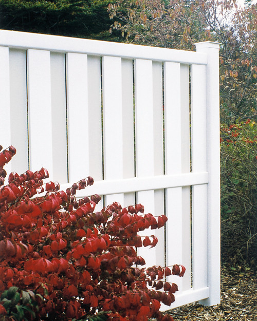 Bufftech Columbia Shadowbox Vinyl Privacy Fence