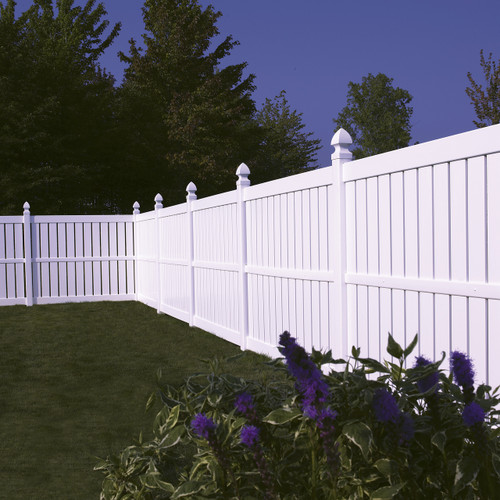Bufftech Millbrook Vinyl Fence Sections - Posts & Caps Sold Separately