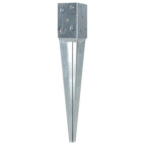 T4-600 4 x 4 Wood Post Anchor - Galvanized