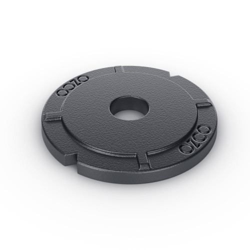 OZCO OWT HD Timber Bolt Washer w/ Black Powder Coat