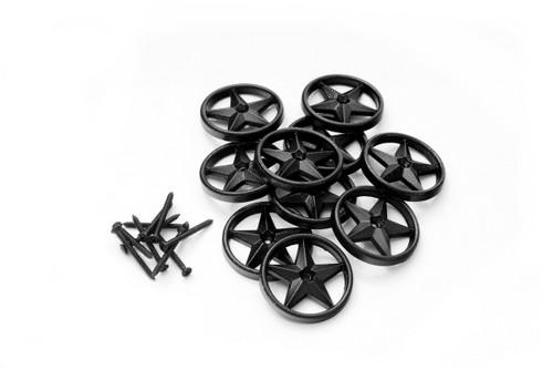 "OZCO OWT 2-3/8"" Decorative Metal Stars - 10 Pack"