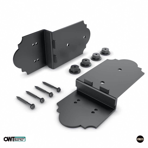 OZCO OWT Laredo Sunset Post to Beam Offset Bolt Connector (P2B-BO-LS)